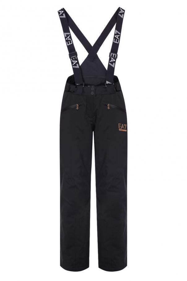 best service 74432 e9bbb Logo-printed ski trousers EA7 Emporio Armani - Vitkac shop ...