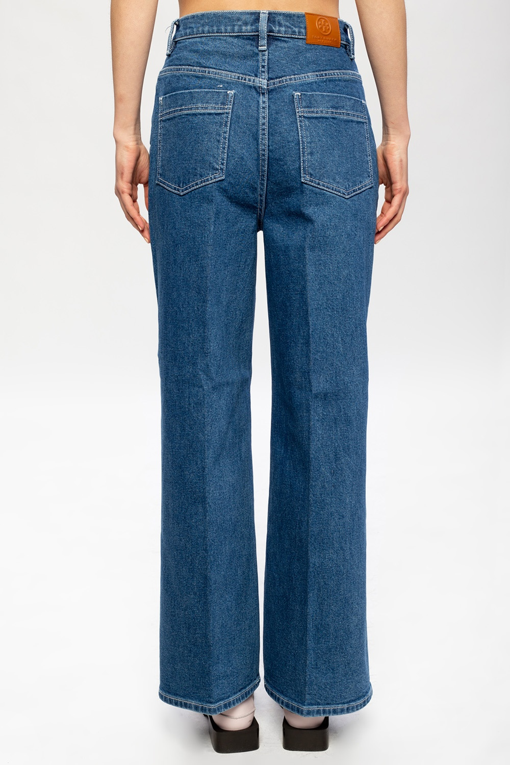 Tory Burch Jeans with logo