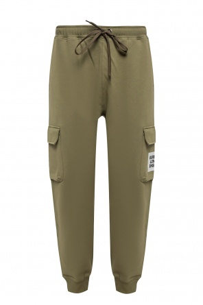 Branded sweatpants od Burberry