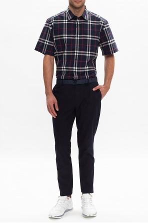 Cotton chino trousers od Burberry