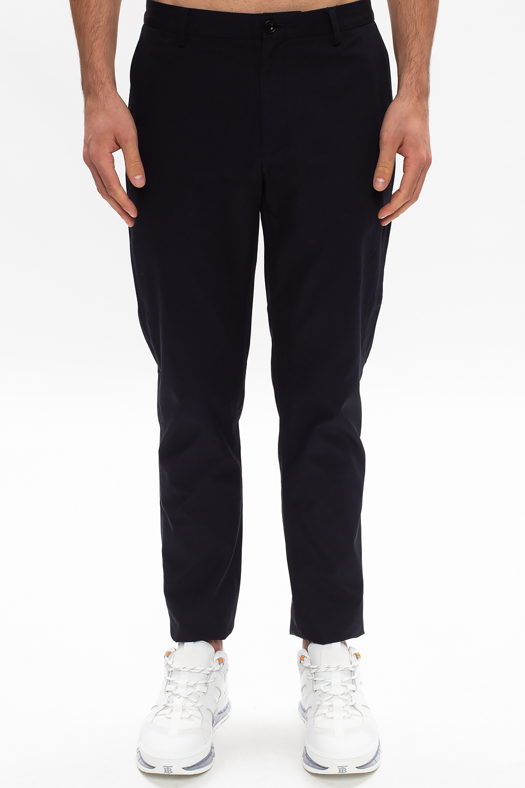 Burberry Cotton chino trousers