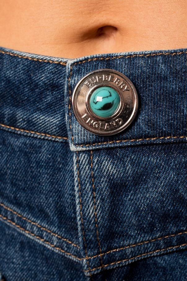 Burberry Jeansy z prostymi nogawkami sRvSiCpG