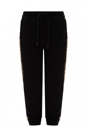Trousers with logo od Burberry
