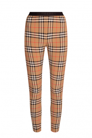 Leggings with logo od Burberry