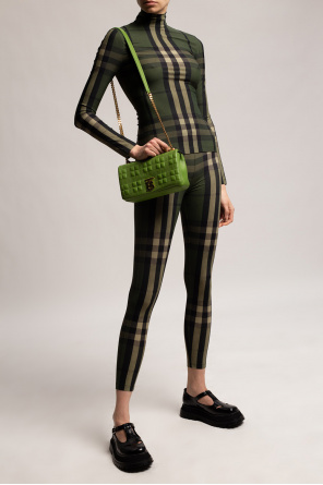 Checked leggings od Burberry
