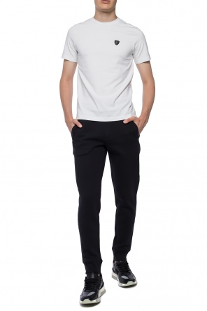 Sweatpants with tapered legs od Emporio Armani