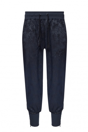 Sweatpants with sewn-in zippers od Nike