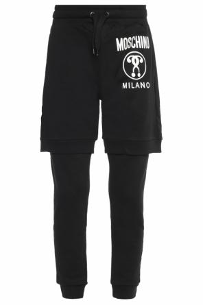 Logo sweatpants od Moschino