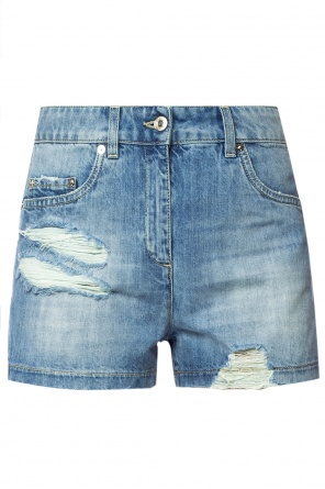 Denim shorts with logo od Moschino