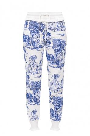 Printed sweatpants od Moschino