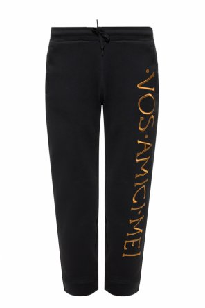 Embroidered sweatpants od Moschino