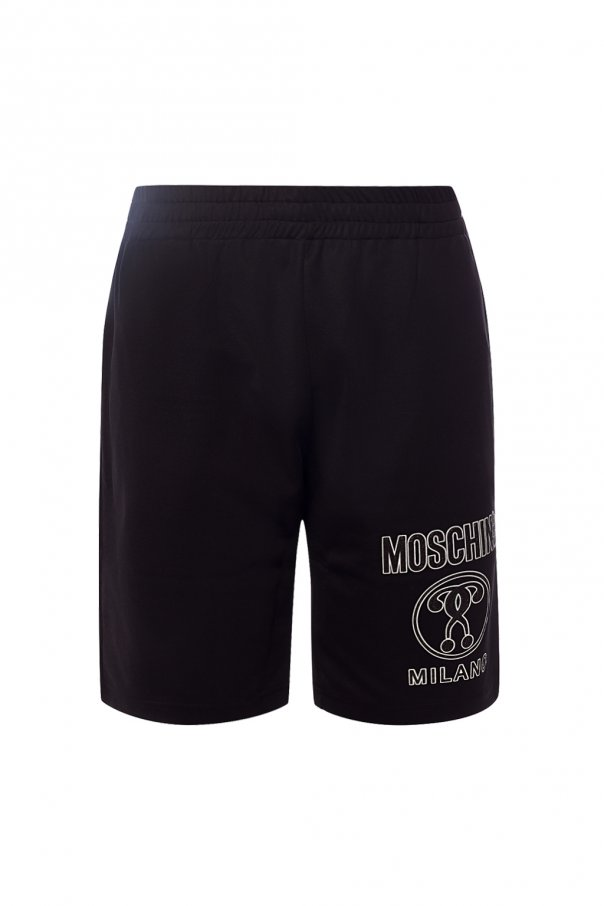 Moschino Logo-printed shorts