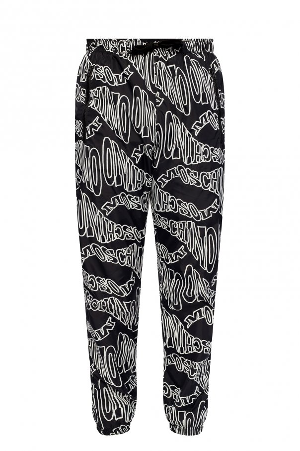 Moschino Track pants with logo