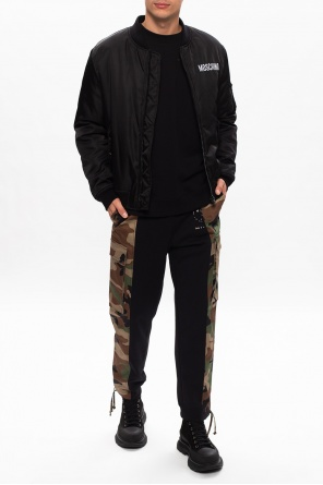 Camo trousers od Moschino