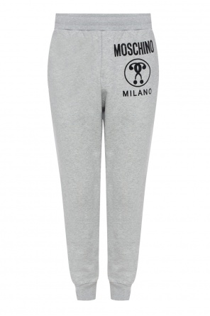 Printed sweatpants od Moschino