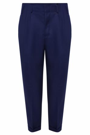 Pleat-front trousers od Ami Alexandre Mattiussi