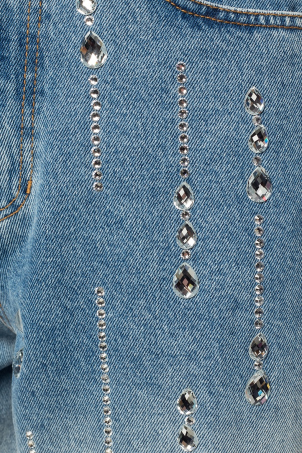 Embellished jeans od Versace Jeans Couture