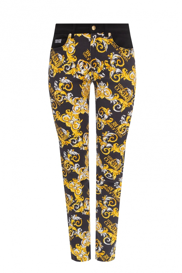 Versace Jeans Couture Patterned jeans