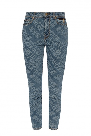 Logo-embroidered jeans od Versace Jeans Couture