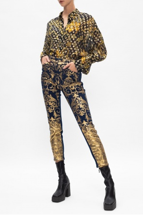 Patterned jeans od Versace Jeans Couture