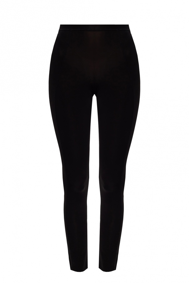 Ganni Leggings with stitching details