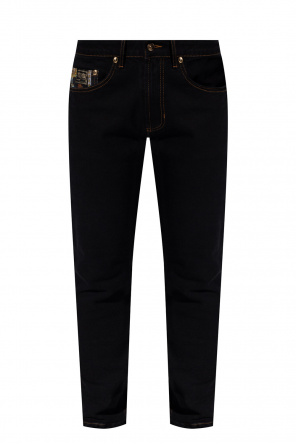 Jeans with logo od Versace Jeans Couture
