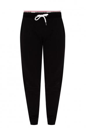 Sweatpants with logo od Moschino