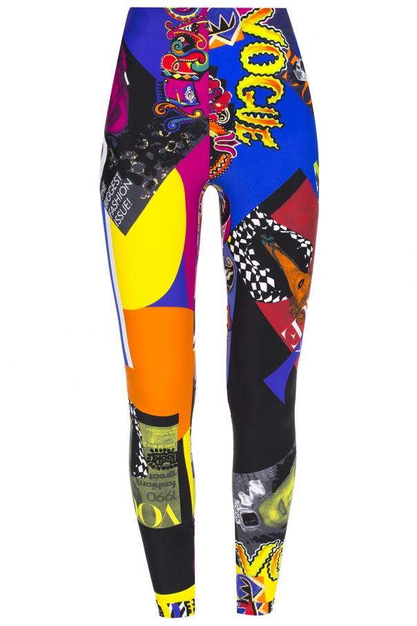 leggings with 39 pop art 39 motif versace vitkac shop online. Black Bedroom Furniture Sets. Home Design Ideas