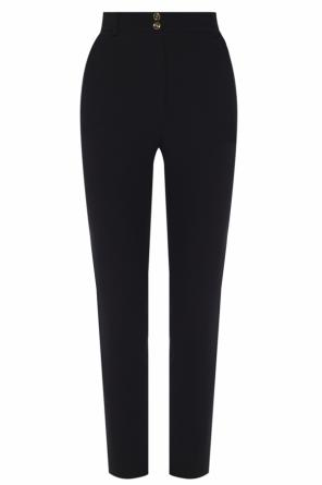 High-waisted trousers od Versace