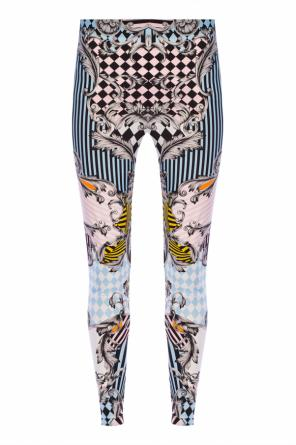 Patterned leggings od Versace