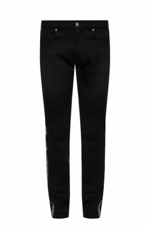 Side-stripe jeans od Versace