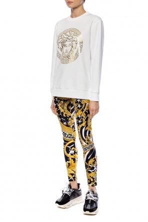 2a43c5e6d6 Wzorzyste legginsy od Versace ...