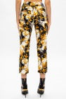 Versace Barocco-printed trousers