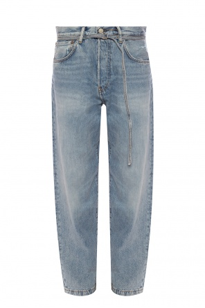 Jeans with belt od Acne