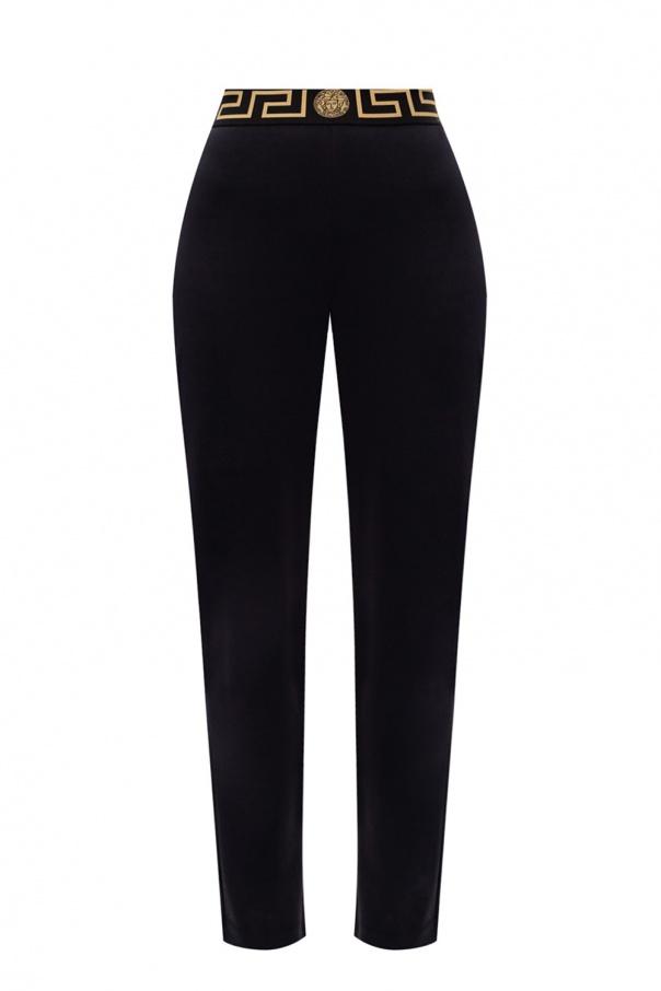 Versace Straight leg sweatpants