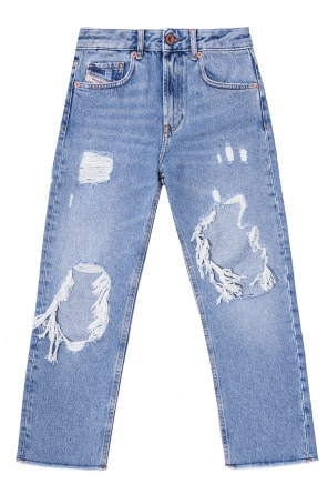 'aryel-j' jeans with holes od Diesel