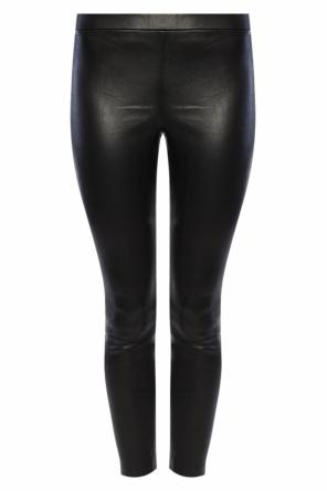 Leather trousers od Allsaints