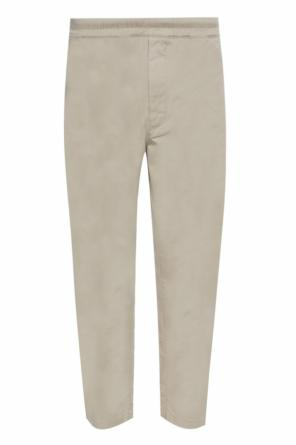 Tapered leg wide trousers od Acne