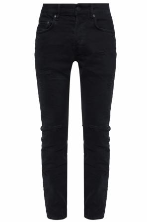 'bank' jeans with holes od AllSaints