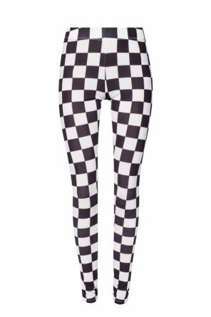 Checkerboard leggings od Versace Versus