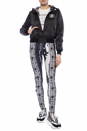 Patterned leggings od Versace Versus