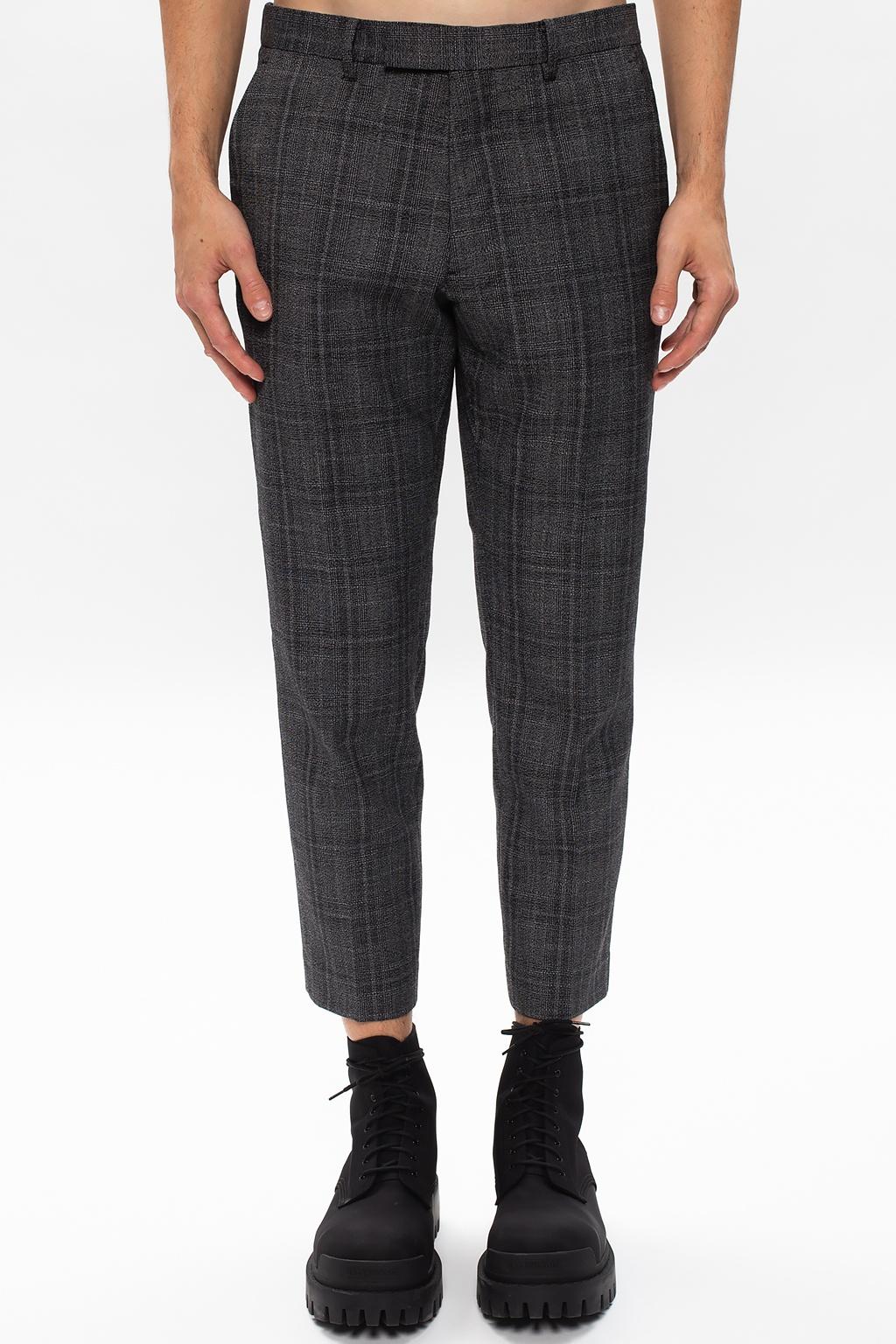 AllSaints 'Bennett' checked trousers