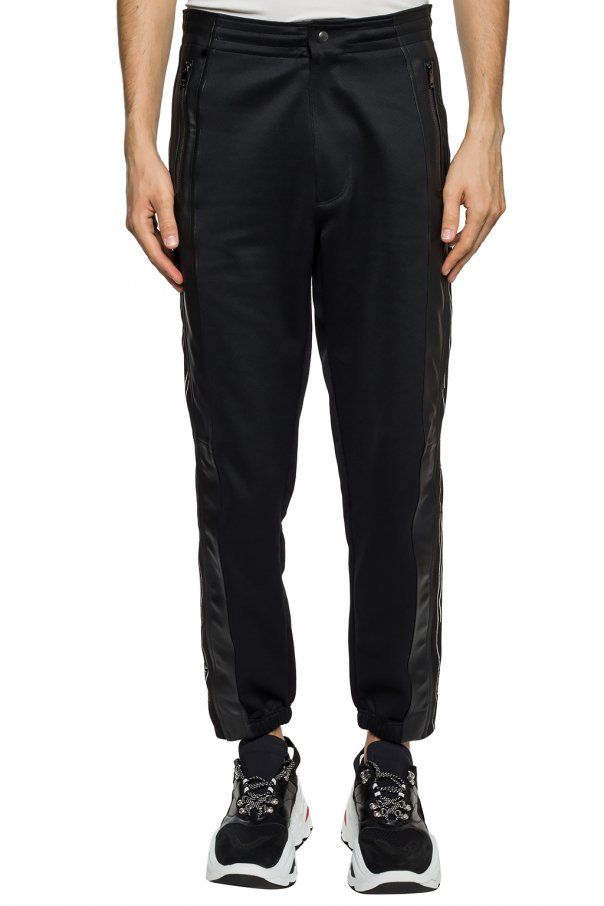 Leather-trimmed trousers od Givenchy