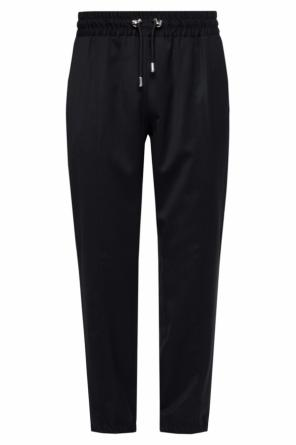 Trousers with elasticated cuffs od Versace Versus