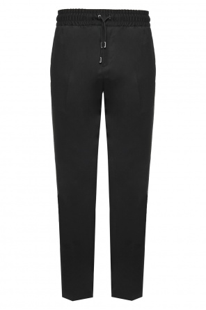 Pleat-front trousers od Versace Versus