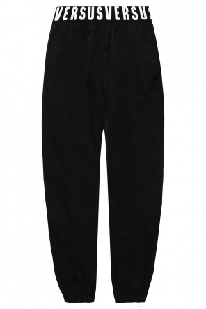 Trousers with logo band od Versace Versus
