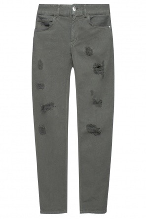Trousers with holes od Versace Versus