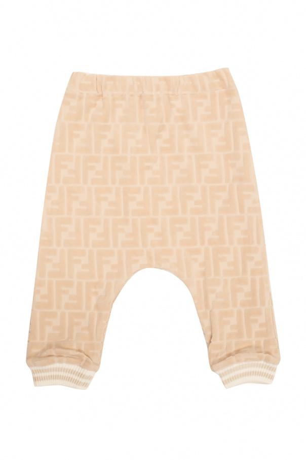 Fendi Kids Trousers with logo