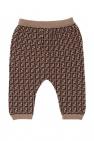 Fendi Kids Sweatpants with logo