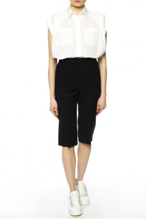 Pleat-front shorts od Givenchy
